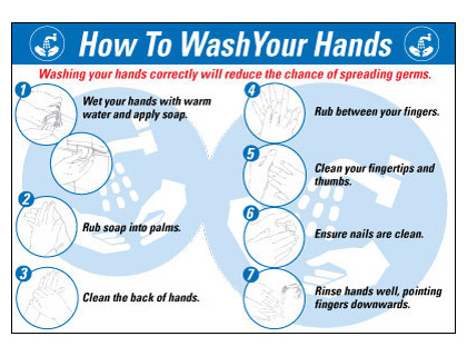 120 x 80 how to wash your hands