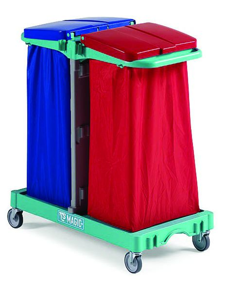 Sack holders - Blue pvc bag for magic line trolley