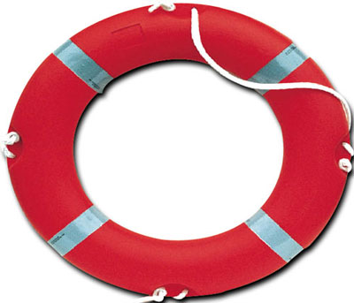 Waterside equipment - 550 mm standard lifebuoy (no reflective