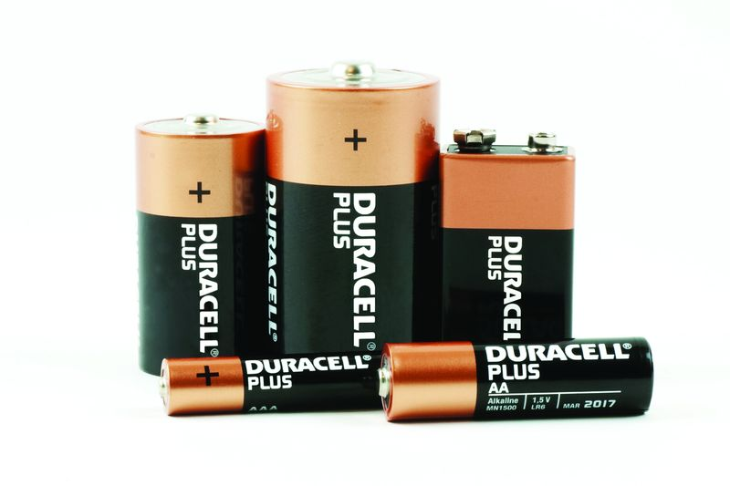 Duracell plus aa battery pack of 4