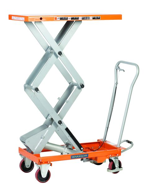 Mobile Scissor Table Capacity 500Kg Table Lifts