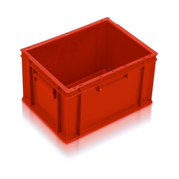 Extra Small Euro Container Solid 20 Litre Red Storage Containers