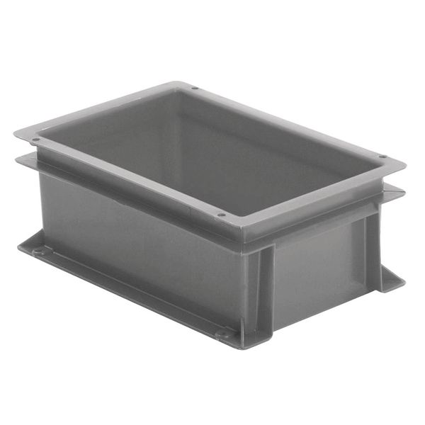 Extra Small Euro Container Solid 5 Litre Grey Storage Containers
