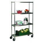Stainless Steel Shelving Initial Bay Shelving