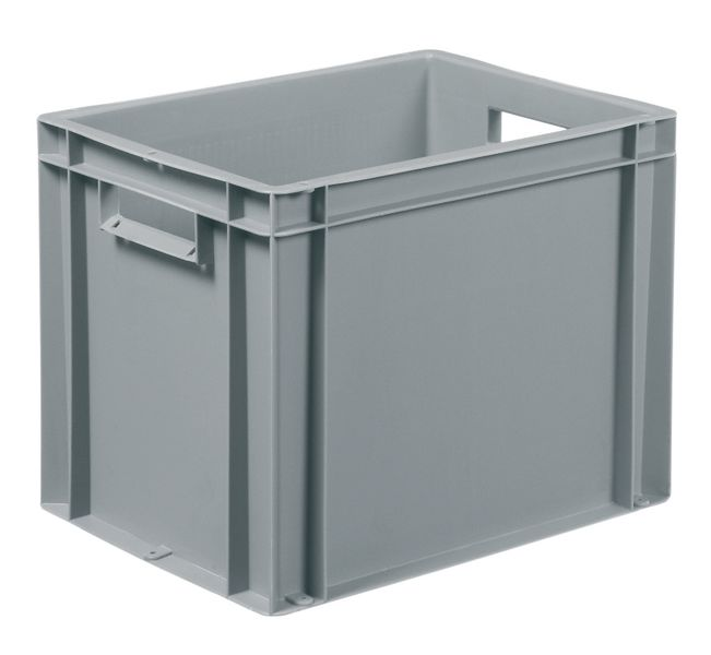 Solid Plastic Stackable Container 27 Litre Storage Containers