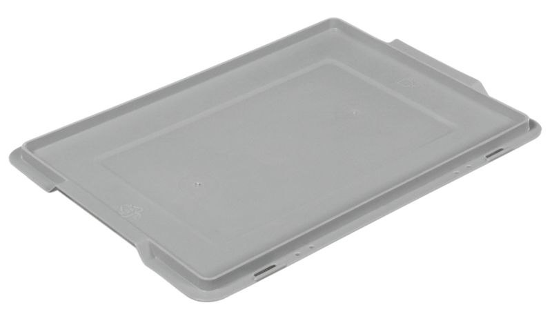 Solid Plastic Stackable Container Lid Storage Containers