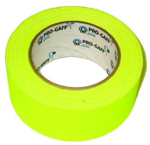 1 Inch x 30 Ft. Yellow Low Fluorescentcent