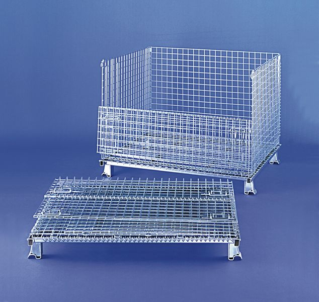 Folding Mesh Cage Capacity 350Kg Cage