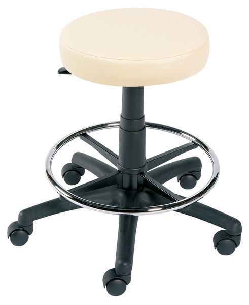 Gas Lift Stool With Footring Chair
