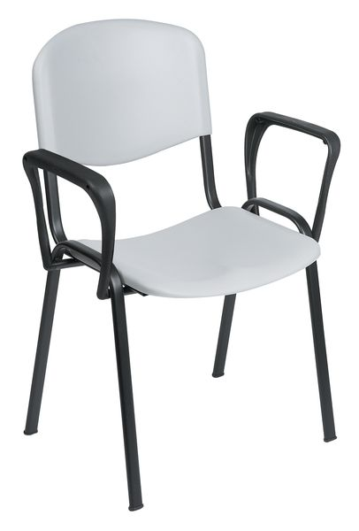 Visitor Ch Air With Arms 830 mm Heightx 540 Width x 560 mm Chair
