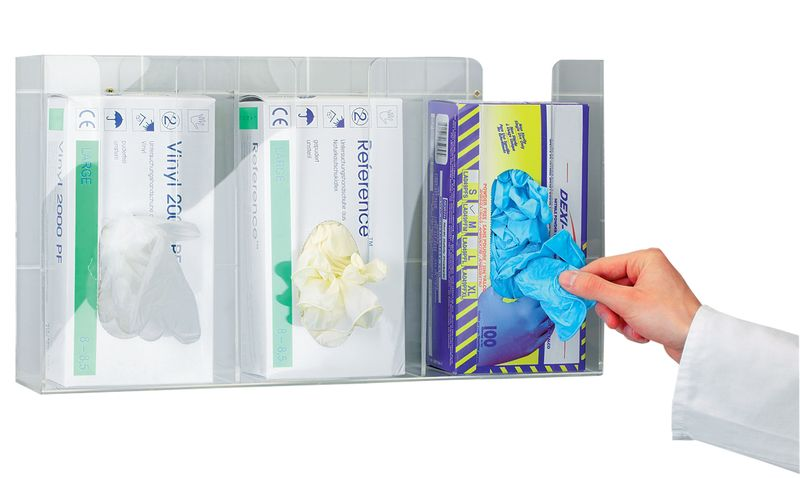 Prinzing Triple Glove Dispenser Dispensers