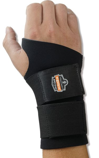 Wrist Support With / Thumb Wrap Size Small  Support