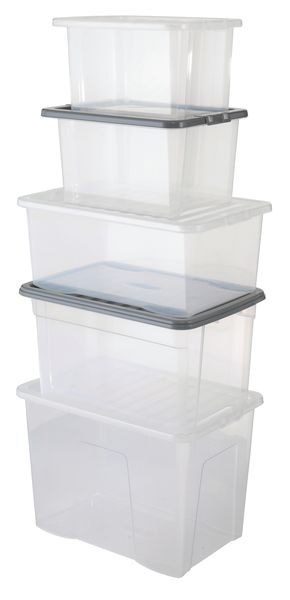 Value Plastic Box 170 mm Height x 205 Width x 320 mm Plastic Boxes