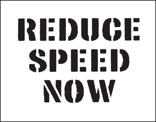Reusable Stencil Reduce Speed..300 x 400 mmstencil