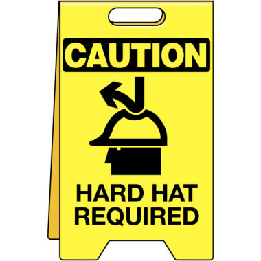 Floor Stand-C-Hard Hat