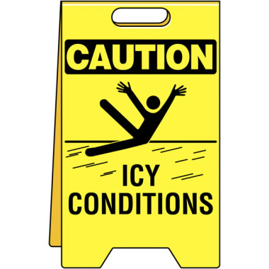Floor Stand-C-Icy Conditions