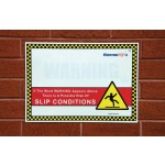 Ice Warning Signs / A 420 x 298 mm Size A3 Road Signs