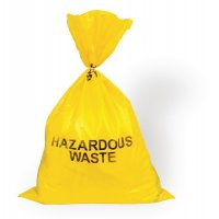 Hazardous Waste Bags 127 Litre Pack of 100 Bags