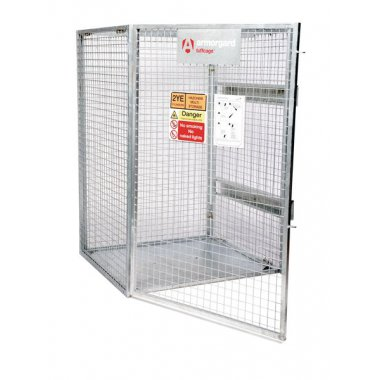 Collapsable Cylinder Storage Cage Cages