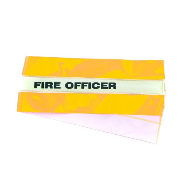 High-Vis Fire Officer Armband Yellow Low