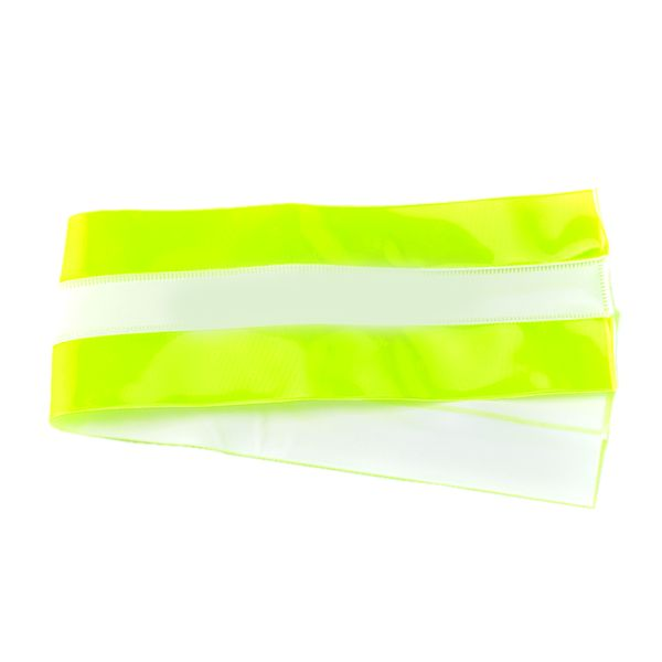 High-Vis Plain Armband Red