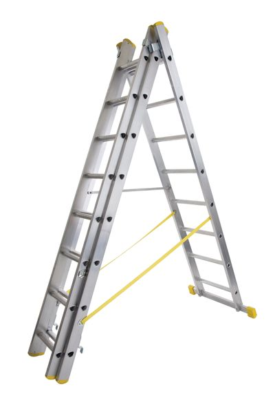 1.8M Box Section Double Reform Ladder Ladders