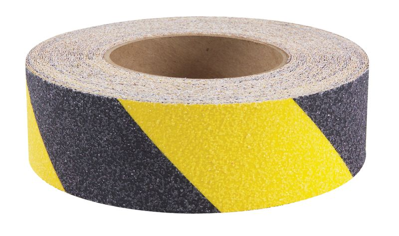 Striped Anti-Skid Tape Black / Yellow Anti Slip Tapes