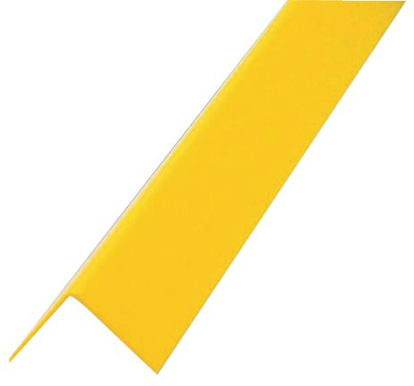Plastic Corner Protect 1000 x 40 x 40 mm Yellow Low Corner Protectors