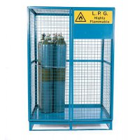 Cylinder Storage Lock Up Cage Painted Cages