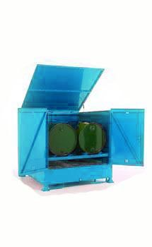 Drum Stores - Horizontal - 1240 x 800 x 1280 mm Storage Containers