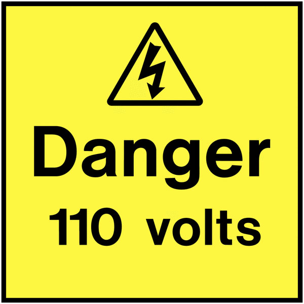 On The Spot Electrical Safety Label Pack of 10 Safety Labels