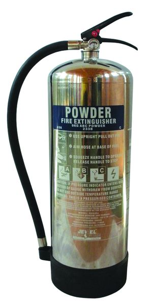 6 Kg Powder Stainless Steel Extinguisher Fire Extinguishers