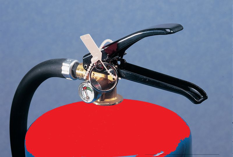 225 mm White Extinguisher Seal Pack of 100 Seal