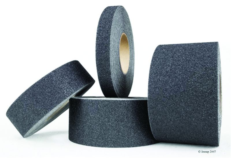 Anti-Slip Course Tape Black 150mm x 18M Anti Slip Tapes