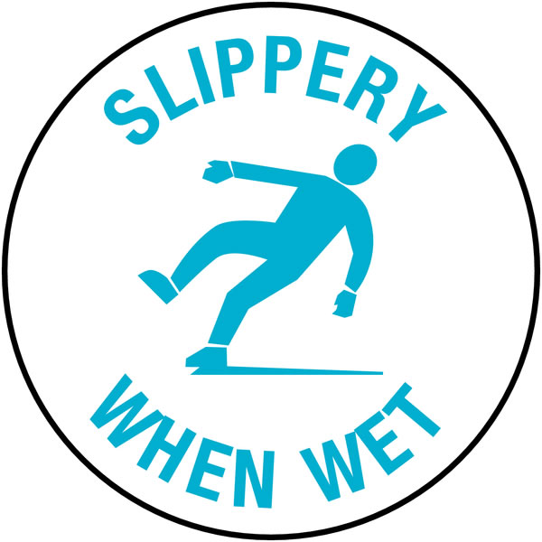 Anti Slip Floor Signslippery When Wet