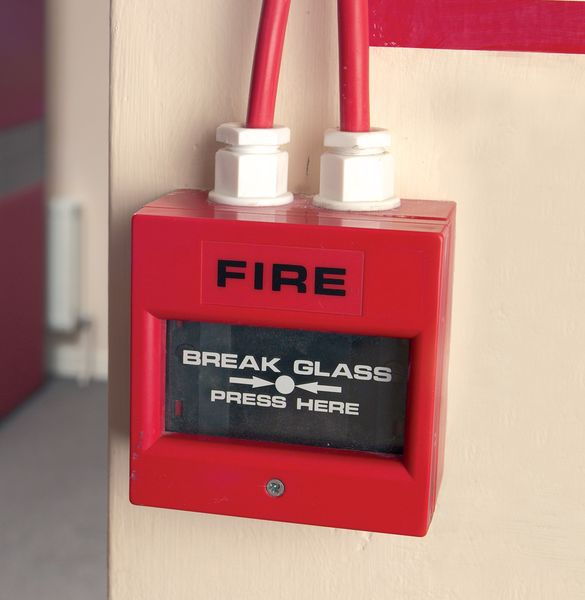 Fire Call Point Replacement Glass Pack of 10