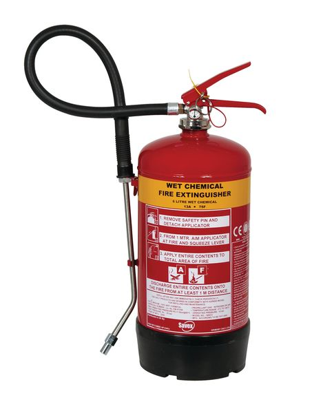 Wet Chemical Extinguisher - 3 Litre Fire Extinguishers