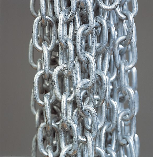 Long Link Zinc Plated Steel Chain
