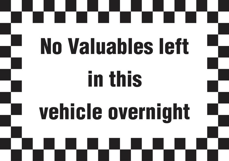 A5 No Valuables Left