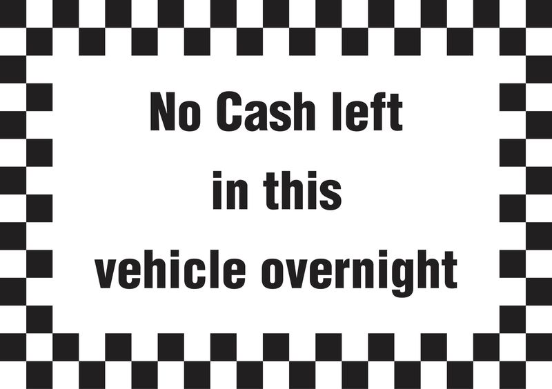 A5 No Cash Left In Vehicle