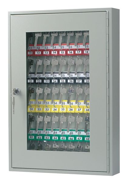 Uk Signs & Labelssecure Glass Fronted Key Cabinet Cabinet
