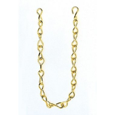 Chain Jack #16 Brass 50Ft
