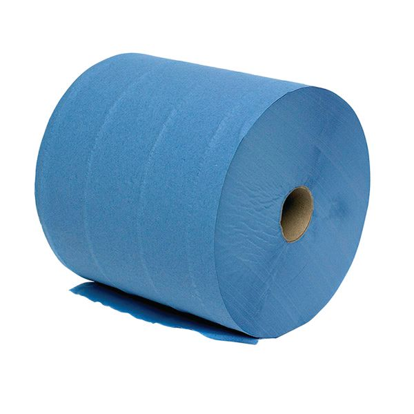 Mobi Roll 280 mm(W)X 360M(L)(2 Ply Blue)