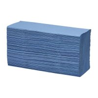 Z Fold Hnd Towel 1 Ply Blue Pack of 144 x 20 Sheets