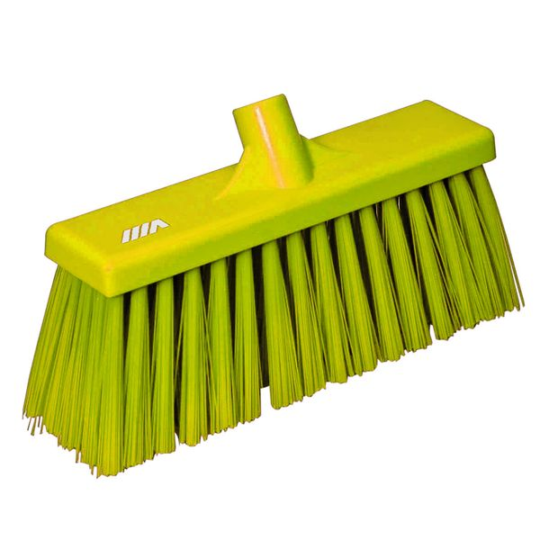 Stiff Broom Yellow Low 12In Brushes