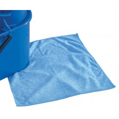 Microfibre Cleaning Cloths Blue Pack of 40 Cleaners