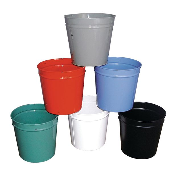 Circular Waste Basket Green