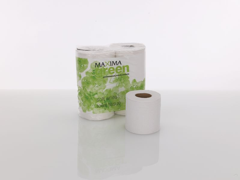 Maxima 2 Ply 200 Sheet Toilet Tissue Pack of 48 Toilet Roll