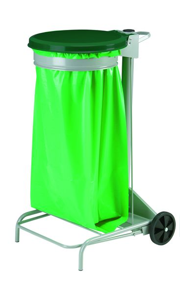 Mobile Sack Holder Green 110 Litre Sackholders