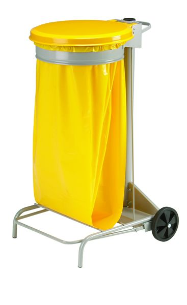 Mobile Sack Holder Yellow 110 Litre Sackholders